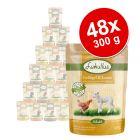 Megapakiet mieszany Lukullus Natural w saszetkach, 48 x 300 g