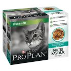 Megapakiet Purina Pro Plan Nutrisavour Sterilised, 10 x 85 g