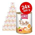 Megapakiet RINTI Filetto, 24 x 800 g