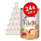 Megapakiet RINTI Filetto, 24 x 420 g