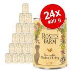 Megapakiet Rosie's Farm Adult, 24 x 400 g