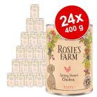 Megapakiet Rosie's Farm Puppy, 24 x 400 g