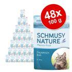 Megapakiet Schmusy Nature Pur w saszetkach, 48 x 100g