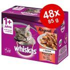 Megapakiet Whiskas 1+ Potrawka, 48 x 85 g