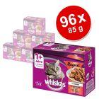 Megapakiet Whiskas 1+ Potrawka, 96 x 85 g