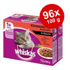 Megapakiet Whiskas 1+ saszetki, 96 x 100 g