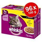 Megapakiet Whiskas Senior 7+ saszetki, 96 x 100 g