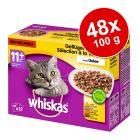 Megapakiet Whiskas Senior 11+ saszetki, 48 x 100 g