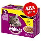 Megapakiet Whiskas Senior 7+ saszetki, 48 x 100 g