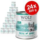 Megapakiet Wolf of Wilderness Adult, 24 x 800 g