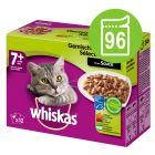 Megapakke: 96 x 85 / 100 g Whiskas portionsposer