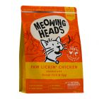 Meowing Heads Dry Cat Food Economy Packs