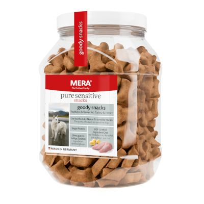 Mera Dog Pure Sensitive Goody Snacks, 600 g