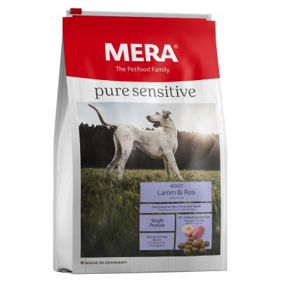 MERA pure sensitive con cordero y arroz para perros