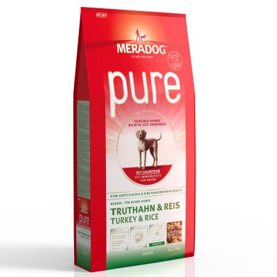 MERA Pure Sensitive Senior Turkey & Rice