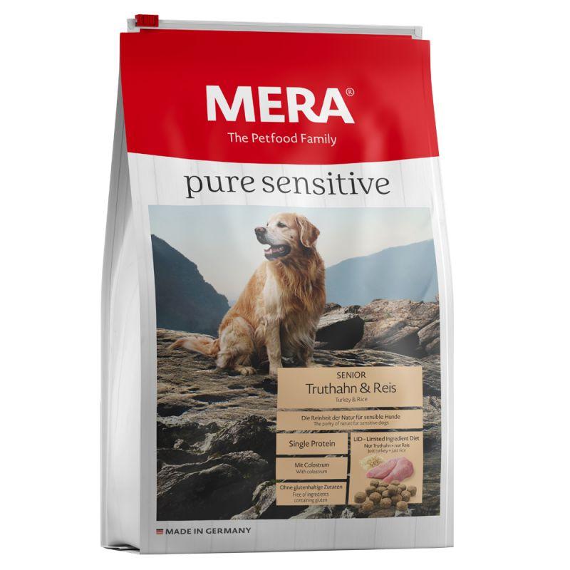 MERA Pure Sensitive Senior Turkey & Rice