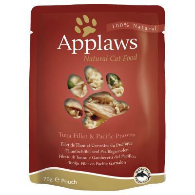 Mégapack Applaws 48 x 70 g pour chat