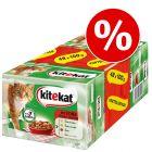 Mégapack de sachets pour chat Kitekat 48 x 100 g