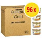 Mégapack Gourmet Gold Les Mousselines 96 x 85 g