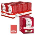 Mégapack Gourmet Mon Petit 48 x 50 g pour chat