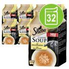 Mégapack Sheba Classic Soup 32 x 40 g pour chat