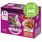 Mégapack Whiskas 1+ Marmiton 48 x 85 g pour chat