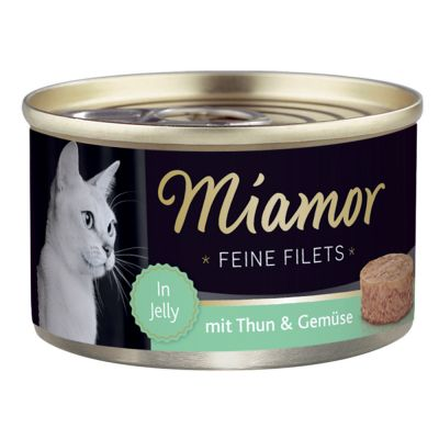 Miamor Delicato Filetto in Gelatina - lattine 6 x 100 g