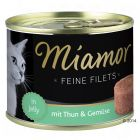 Miamor Delicato Filetto in Gelatina 6 x 185 g