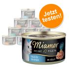Miamor Feine Filets Jelly Probierpaket 12 x 100 g