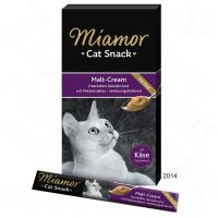 Miamor Cat Snack crema de malta y queso para gatos