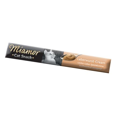 Miamor Cat Snack Liver Paté Cream