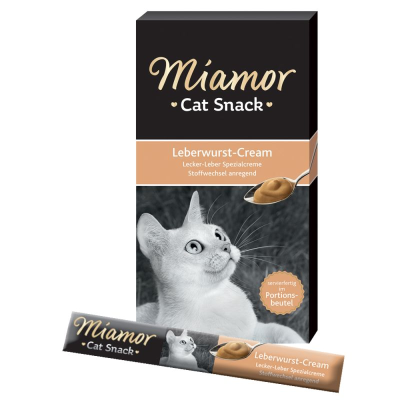 Miamor Cat Snack Liver Pâté Cream