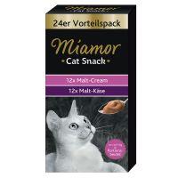 Miamor Cat Snack Malt Cream & Malt-Käse Multibox