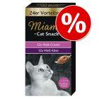 Miamor Cat Snack -säästöpakkaus 24 x 15 g
