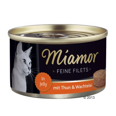 Miamor Delicato Filetto in Gelatina - lattine 24 x 100 g