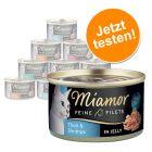 Miamor Feine Filets Jelly Probierpaket 12 x 100 g