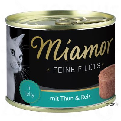 Miamor Feine Filets Jelly Probierpaket 12 x 185 g