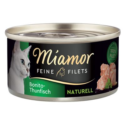 Miamor Feine Filets Naturelle, 6 x 80 g