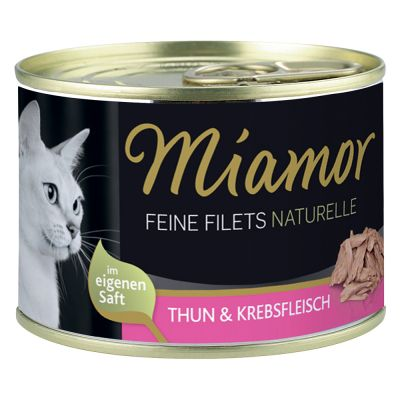 Miamor Feine Filets Naturelle, 6 x 156 g