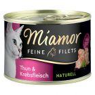 Miamor Feine Filets Naturelle 6 x 156 g