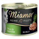 Miamor Feine Filets w galarecie, 6 x 185 g