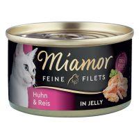 Miamor Feine Filets w puszkach, 6 x 100 g