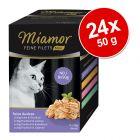 Miamor Feine Filets w saszetkach MINI, 24 x 50 g