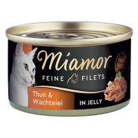 Miamor Fijne Filets Kattenvoer 6 x 100 g