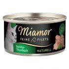 Miamor Fijne Filets Naturel Kattenvoer 6 x 80 g