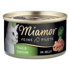 Miamor Filetes Finos en gelatina 6 x 100 g