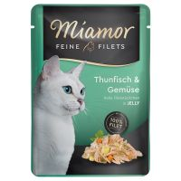Miamor Filets fins en gelée 6 x 100 g pour chat
