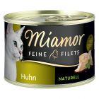 Miamor Filets Fins Naturels 6 x 156 g pour chat