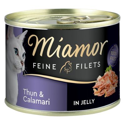 Miamor Filets Fins 6 x 185 g pour chat