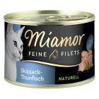 Miamor Fine Fileter Naturel 6 x 156 g